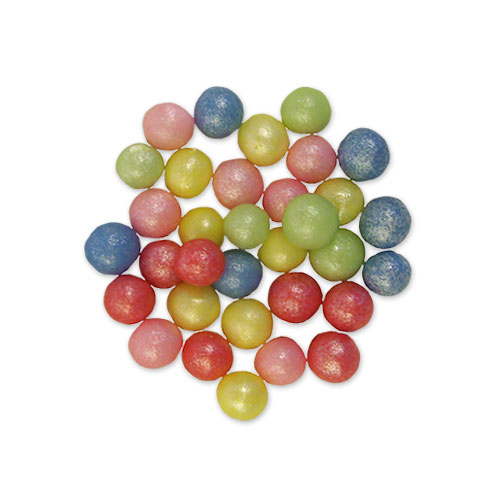 gekleurde crispy parels