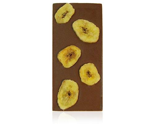 chocolade met bananen