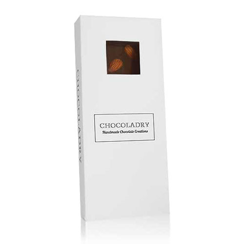 chocolade met bruine amandelen