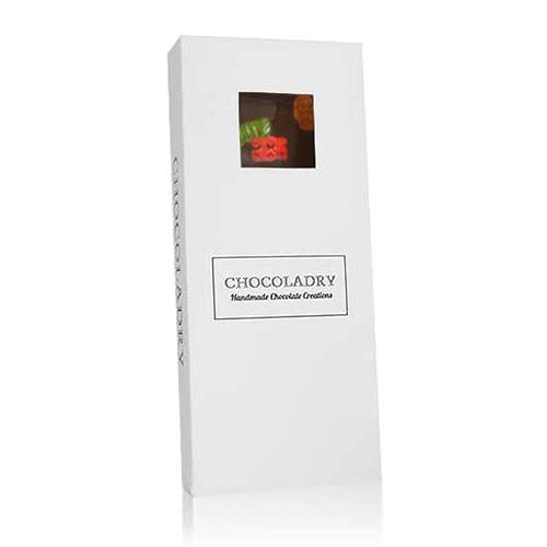 chocolade met gummibeertjes