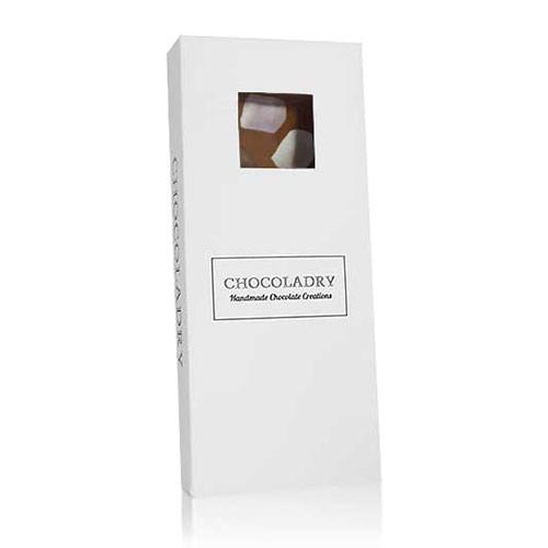 chocolade met marshmallows