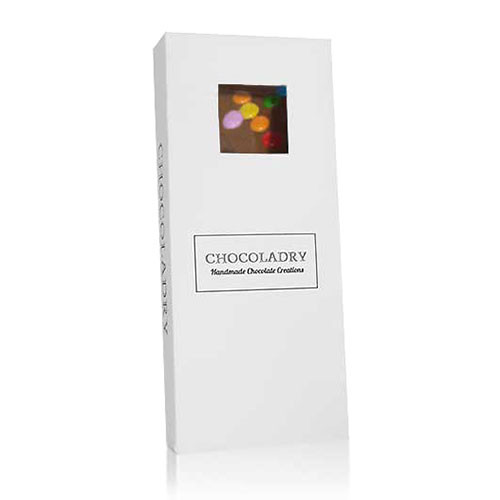 chocolade met mini smarties