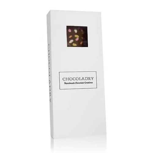 chocolade met rijstsnoepjes