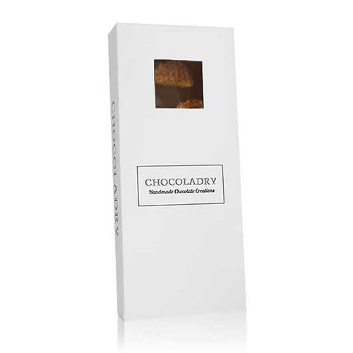 chocolade met stroopwafel