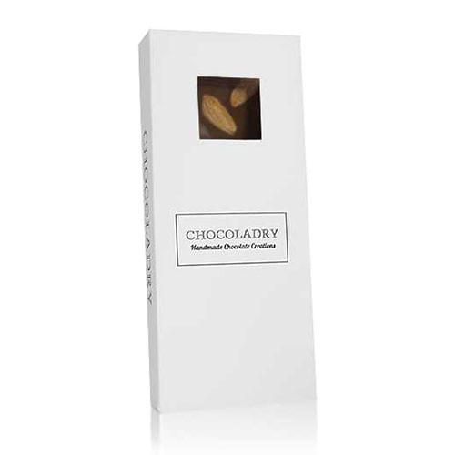 chocolade met blanke amandelen