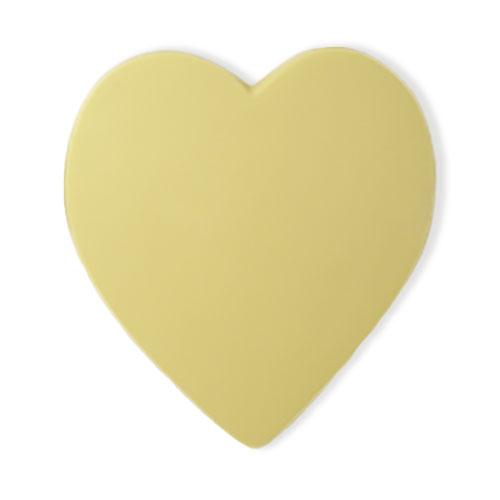 hart van witte chocolade