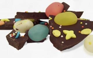 Chocolade over na Pasen