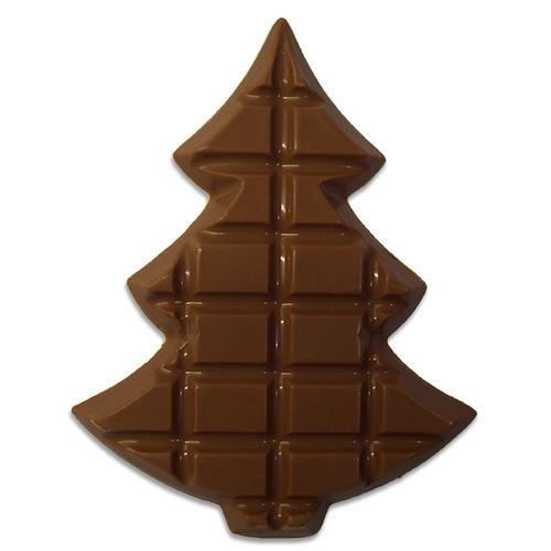 Kerstboom-melkchocolade