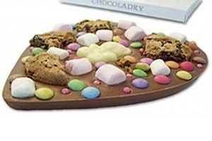 Hart van melkchocolade met decoratie