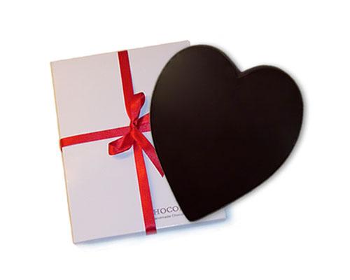 Chocoladehart-puur