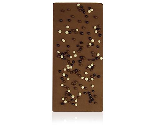 Chocolade met crispy choco balletjes