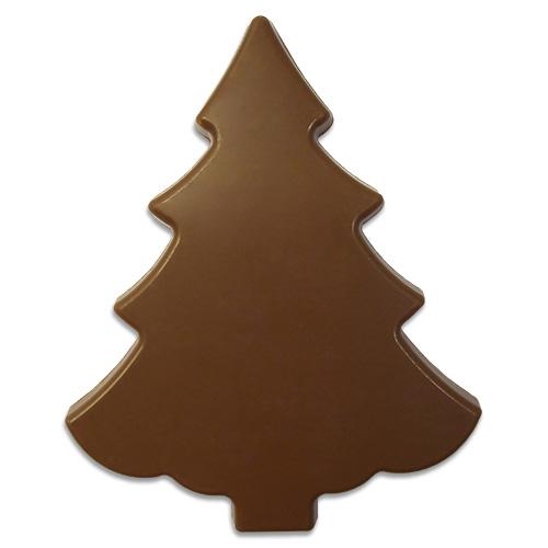 Kerstboom van melkchocolade 100 g