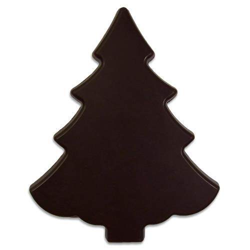 Kerstboom van pure chocolade 100 g