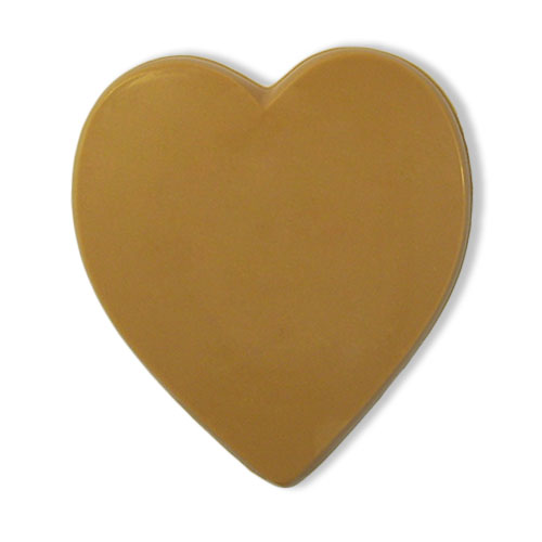 Hart Gold van karamelchocolade