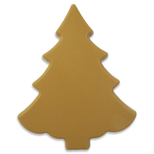 Kerstboom Gold van karamelchocolade 100 g