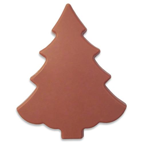 Kerstboom van Ruby chocolade 100 g