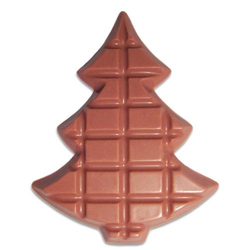 Kerstboompje van Ruby chocolade